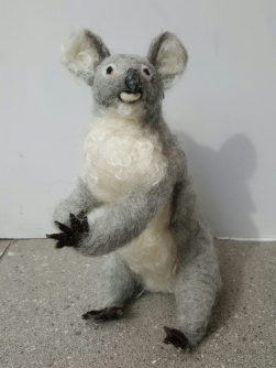 dorothyanne-brown-chuckie-the-koala-felted_33363074745_o