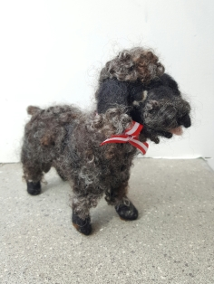 dorothyanne-brown-henry-the-poodle-felted_33363312445_o