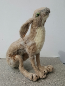 sold-dorothyanne-brown-hasenpheffer-the-hare-felted_32980600490_o
